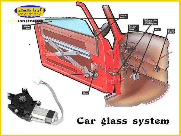 موتور شیشه بالابر و نقش آن در سیستم بالابر شیشه های خودرو چیست؟