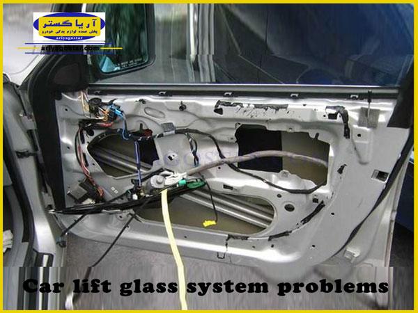 نحوه عملکرد مدار ساده یک سیستم بالابر شیشه